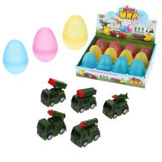 Военная машина инерц., в яйце, в ассортименте