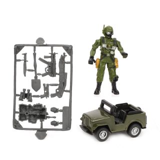 Игр.набор Армия, предметов 3шт., пакет