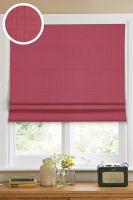 Римская штора Эскар однотонная 140*160, красный