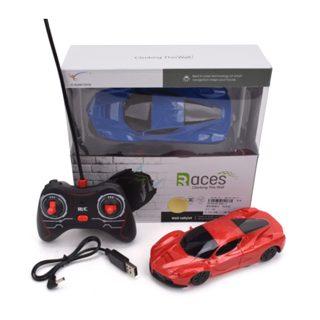 Машина Стенолаз р/у, 4 канала, аккум.встроен., USB шнур, эл.пит.АА*2шт.не вх.в комплект, коробка