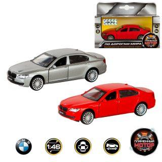 Машина мет. 1:46 BMW 760, откр.двери, цвета в ассорт., 11см