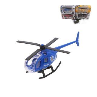 Вертолет металл., коробка, в ассортименте