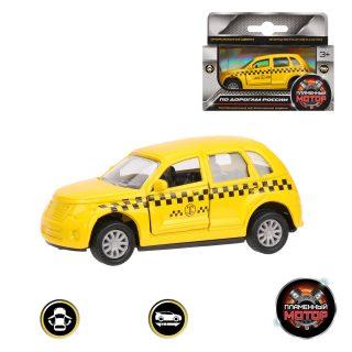 Машина мет. ин. Такси, открываются двери