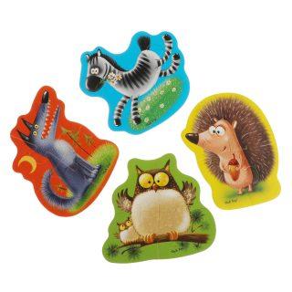 Мягкие пазлы Baby puzzle Животные