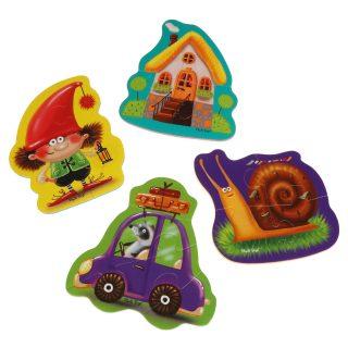 Мягкие пазлы Baby puzzle Картинки