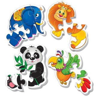 Пазлы мягкие Baby puzzle Зоопарк