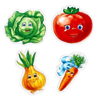 Пазлы мягкие Baby puzzle Овощи