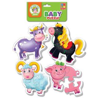 Пазлы мягкие Baby puzzle Ферма
