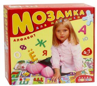 Мозаика для малышей Алфавит