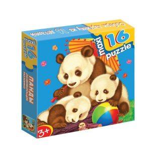Развивающая мозаика. Панды