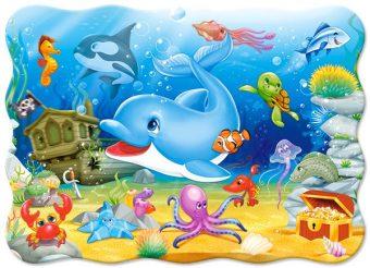 Пазлы 30 MIDI Подводные друзья