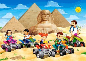 Пазлы 60 MIDI Пирамиды Египта