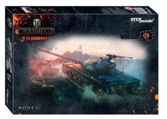 Пазлы 120 Мир танков