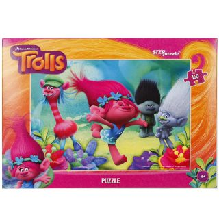 Пазлы 160 Trolls