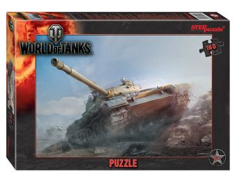 Пазлы 160 World of Tanks