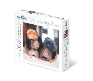 Пазл 360эл White Rat Готовы к зиме + 4 магнита