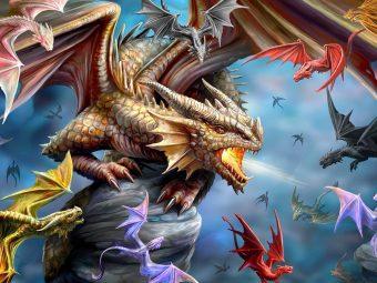 Пазл Super 3D Клан дракона, 500 детал.
