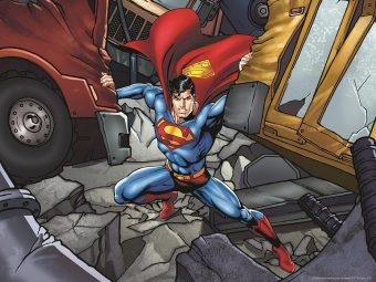 Пазл Super 3D Сила Супермена, 500 детал.