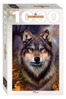 Пазлы 1000 Бенте Шлик. Волк