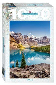 Пазлы 1000 Озеро в горах