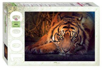 Пазлы 1000 Сибирский тигр