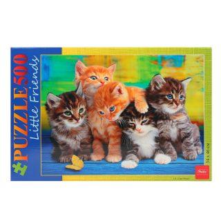 Пазлы 500 А2ф 460х340мм Дружные котята