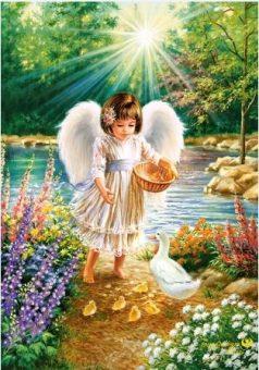 Пазлы 500 Ангельская забота