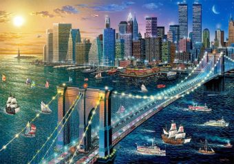 Пазлы 500 Бруклинский мост