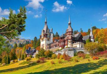 Пазлы 500 Замок Пелеш, Румыния