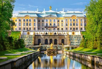 Пазлы 500 Петергофский дворец
