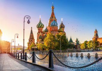 Пазлы 500 Собор Василия Блаженного