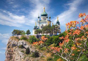 Пазлы 500 Храм в Форосе, Крым