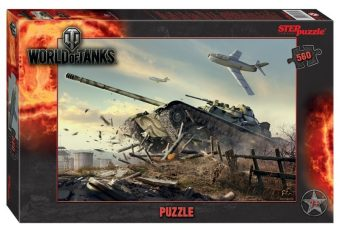 Пазлы 560 World of Tanks