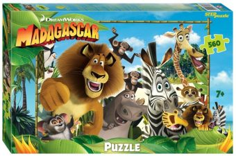 Пазлы 560 Мадагаскар - 3