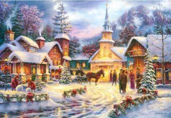 Пазлы 1500 Праздник Рождества