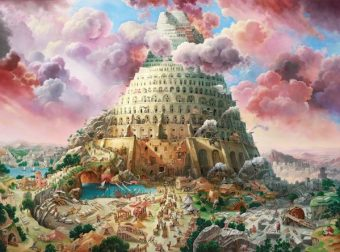 Пазлы 3000 Вавилонская башня