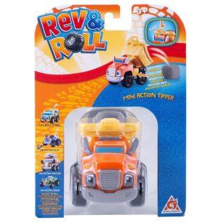 Игрушка Rev_Roll мини машинка - Типпер