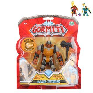 Gormiti Фигурка героя 12 см. в комплекте с аксессуарами, 3 героя в ассорт.