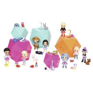 Игр. набор с куклой LIL' SNAPS, серия 1, 14 видов в ассорт., блистер