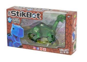 Игрушка Stikbot Мегадино, в ассорт.