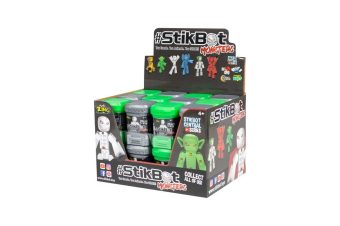 Игрушка Stikbot Монстр в капсуле, в асс-те