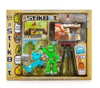 Игрушка Stikbot студия с питомцем, в асс-те