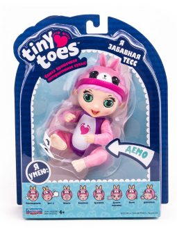 Интерактивная игрушка Tiny Toes, Зайка