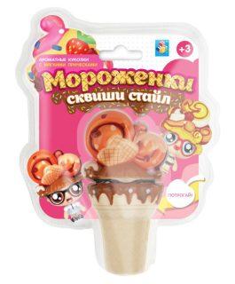 Мороженки сквиши стайл, куколки с мягкими прическами, ароматизированные, 12 см, в ассорт. 10 видов