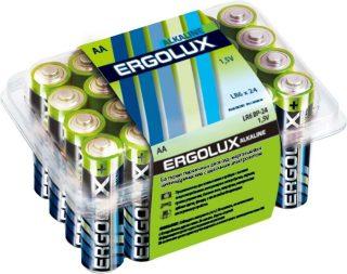 Батар. АА алкалин. Ergolux (LR6 Alkaline BP-24,1.5В)