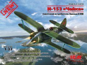 "И-153 ""Чайка"", Советский истребитель-биплан ІІ МВ"