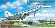 Ту-144Д, Советский сверхзуковой пассажирский самолет