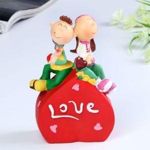 """Копилка """"Love/Kiss me"""" 11,5х7х16,5 см микс 4824295"""