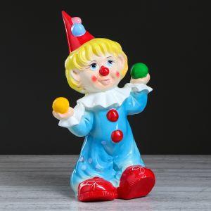 """Копилка """"Клоун Пени"""", глазурь, разноцветная, 40 см"""