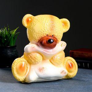 "Копилка ""Медведица с подушкой"" бежевая 24см МИКС  332528"